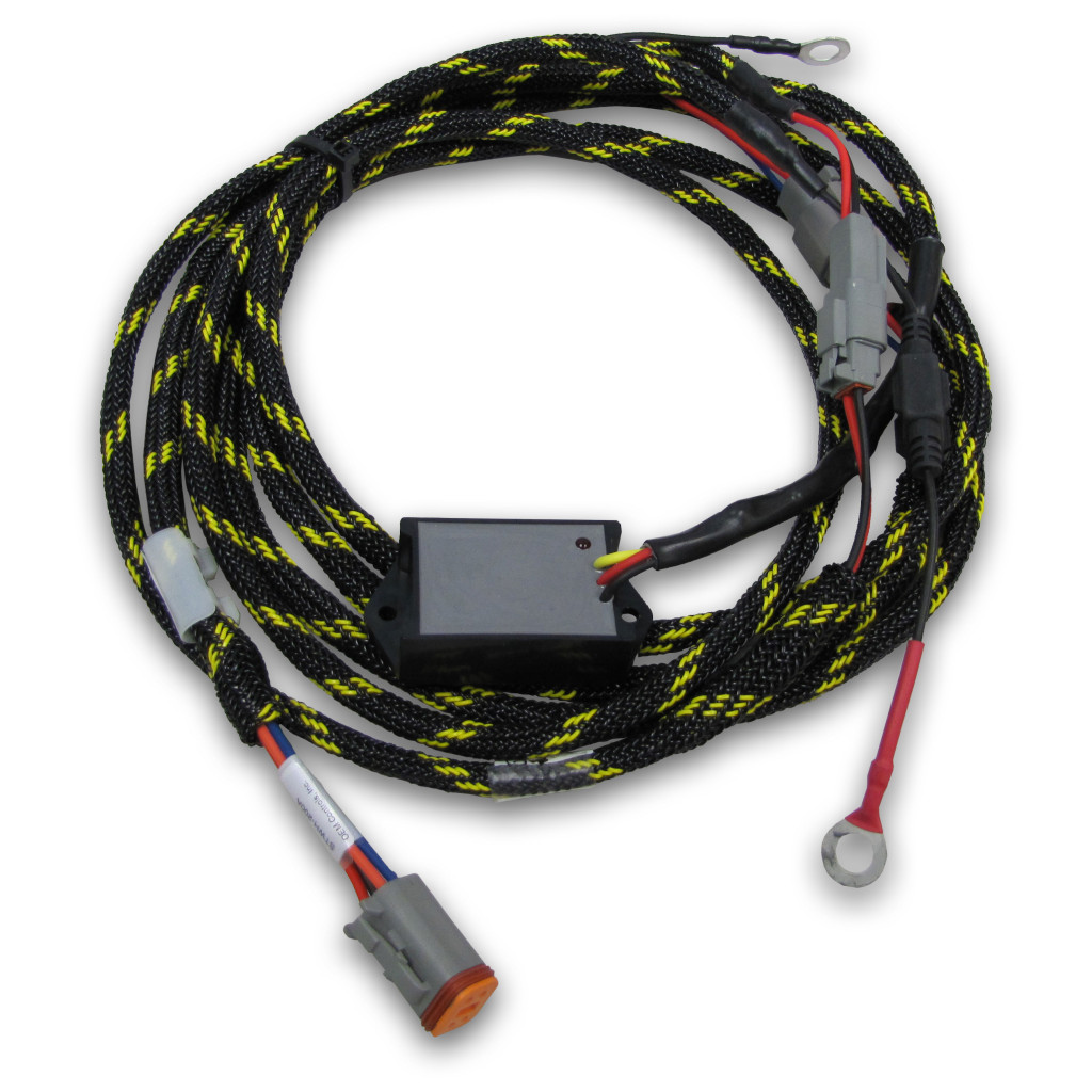 Harness with Vibration Sensor